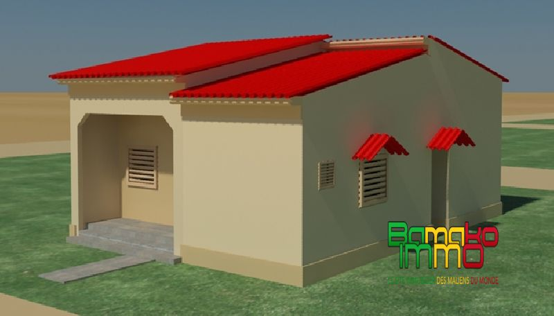 Captivating Vente   Neuf à Construire   Yirimadio Bamako MALI   Ref:Z904 Construire Sa  Maison T4 à Yirimadio Bamako