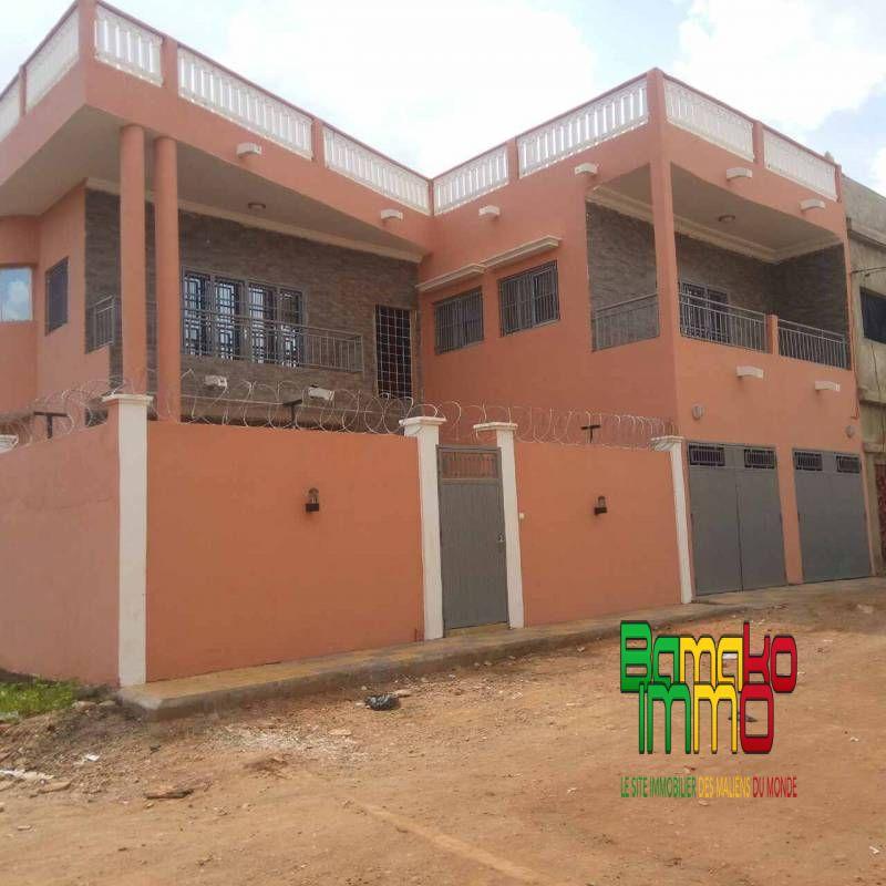 Vente villas baco djicoroni tdi8002 villa vendre for Construire une maison au mali