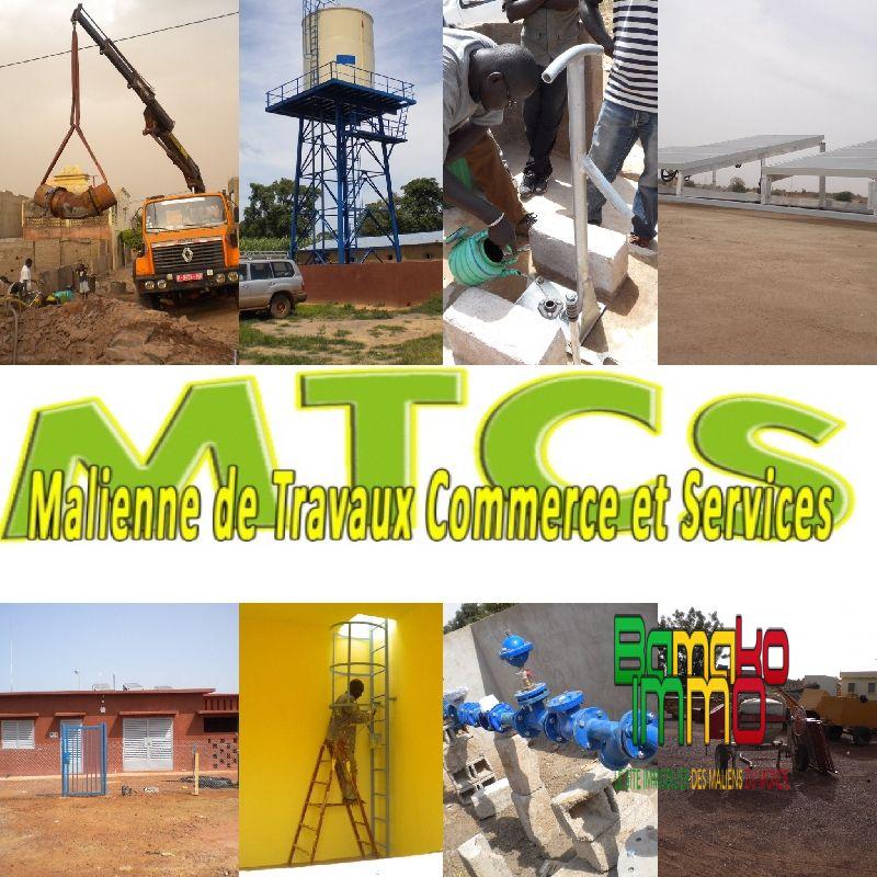 Vente  Neuf  Construire  Bamako  RefMtcs Btp Mali Construction