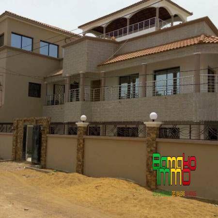 Vente  Villas  Bamako Immobilier  Le Site Des Maliens Du Monde