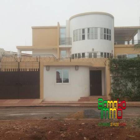 Location villas meublees bamako immobilier le site for Les plus belles facades de villa